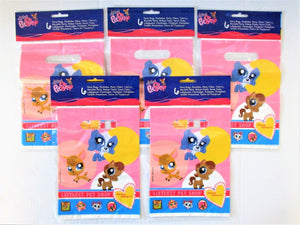 Pack of 30 Littlest Pet Shop Plastic Party Bags - Favour Bag
