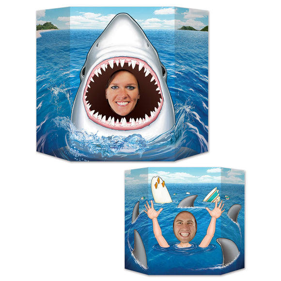 Shark Photo Prop - 94 x 64 cm - Deep Sea Animal Party Decorations - Shark Attack