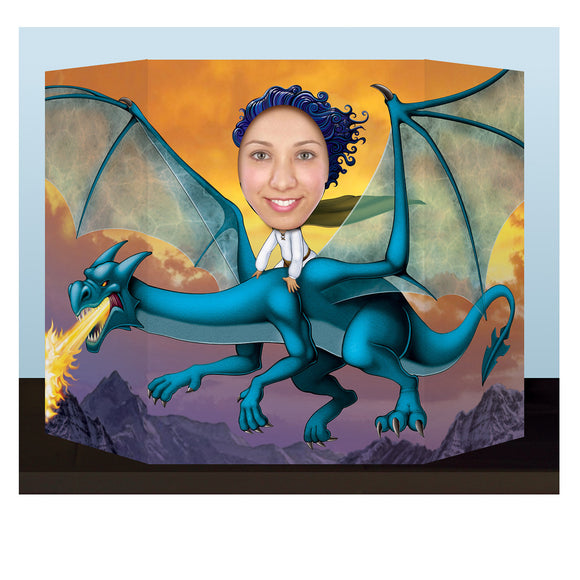 Dragon Photo Prop - 94 cm x 64 cm - Fantasy Dragons - Animal Party Decorations