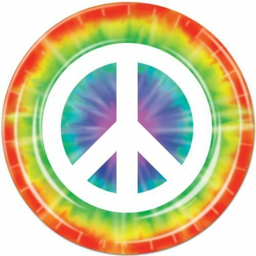Pack of 8 Peace Sign 9