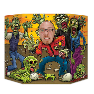 Zombie Photo Prop - 94 cm x 64 cm - Halloween Party Decorations