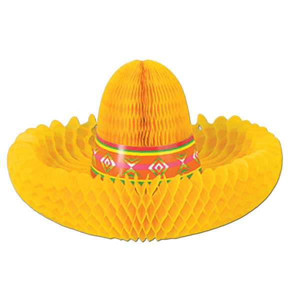 30cm Sombrero Centrepiece - Mexican Party Decorations - Spanish Fiesta Party
