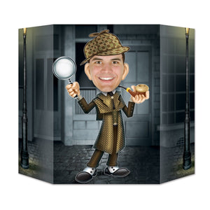 Sherlock Holmes Photo Prop - 94  x 64 cm - Private Detective Party Decorations