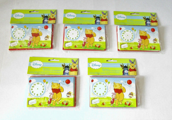 Pack of 30 Winnie the Pooh and Piglet Party Invitations and envelopes