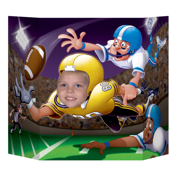 American Football Photo Prop - 94 x 64cm - USA Rugby Foot Ball Party Decorations