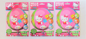 Pack of 3 Hello Kitty Orbs Foil Helium Balloons - Kids Party Decorations
