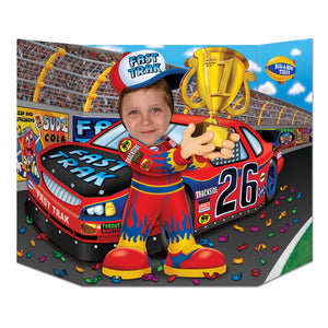 Race Car Driver Photo Prop - 94 cm x 64 cm - Party Decorations Racing Driver