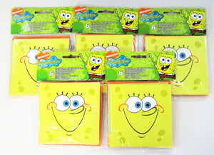 Pack of 30 Spongebob SquarePants Party Invitations with Envelopes - Party Invite