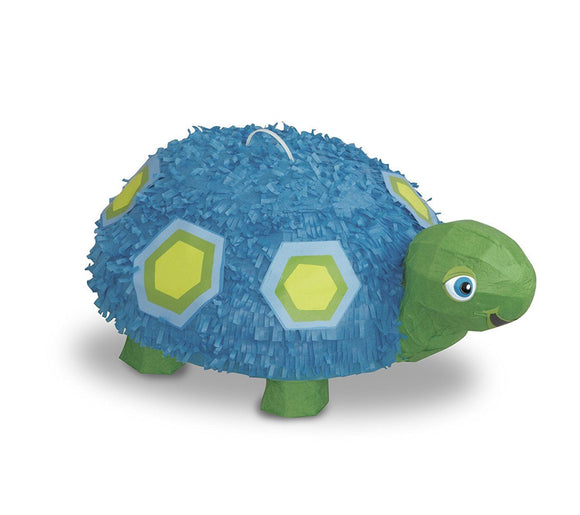 Blue and Green Turtle Pinata - Fun Party games for animal parties