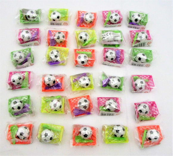 Pack of 30 Assorted Mini Football Games - Christmas Stocking - Party Bag Fillers