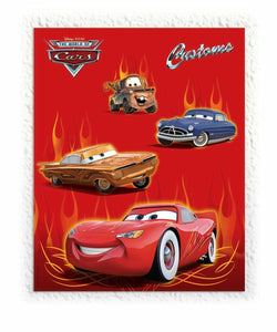 Disney Pixar Cars Wall Decorating Kit - 122 x 152 cm - Plastic Wall Decoration