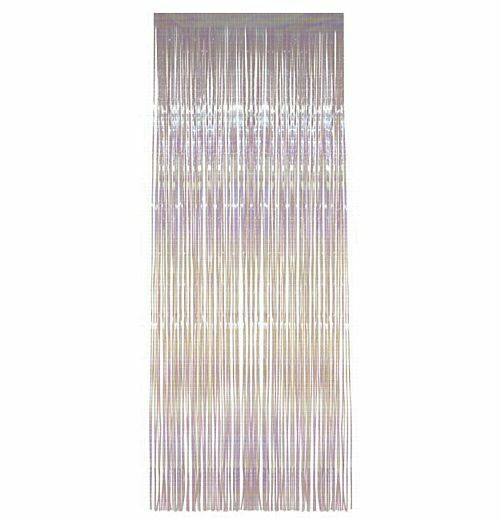 Pack of 50 Iridescent Shimmer Foil Door Curtains - Hanging Party decorations