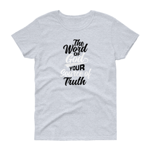 Word of God Ladies Short Sleeve T-shirt
