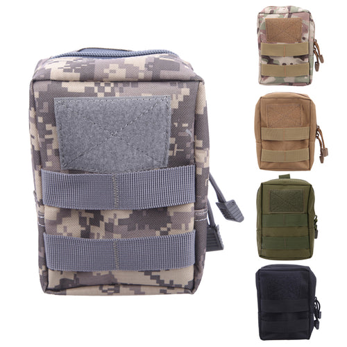 Multifunction Tactical Molle Pouch Belt Waist Bag Military Fanny Pack Outdoor Pouches Phone Case Pocket For Iphone7 Hunting Bags - Outdoor Panther