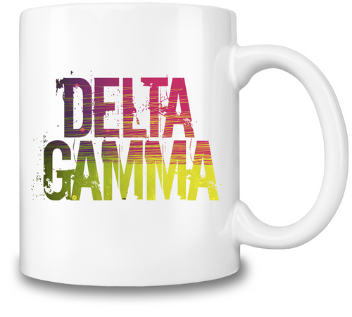 Delta Gamma Coffee Mug - Outdoor Panther