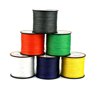 Hot Selling 500M Super Strong Extreme PE Braided Sea Fishing Line Multifilament Fishing Line #E0 - Outdoor Panther
