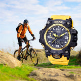 AO  Watch LED Men Waterproof Sports Watches Shock Digital Electronic - Outdoor Panther