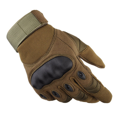 Outdoor Tactical Gloves Full Finger For Sports Protection Shell Gloves - Outdoor Panther