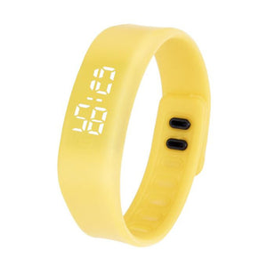 LED Sports Running Watch Date Rubber Bracelet Digital Wrist Watch - Outdoor Panther