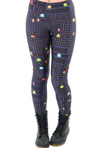 Women Space Print Pants Fitness Legging - Outdoor Panther