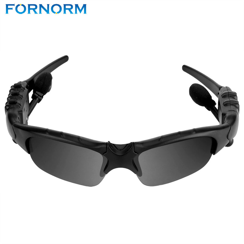 FORNORM Wireless Sports Stereo Bluetooth Headset Handfree Sunglasses Talk Music Headset Headphone - Outdoor Panther