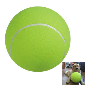 9.5-inch Giant Tennis Ball for Large Pet Toys / Outdoor / Sports / Beach - Outdoor Panther