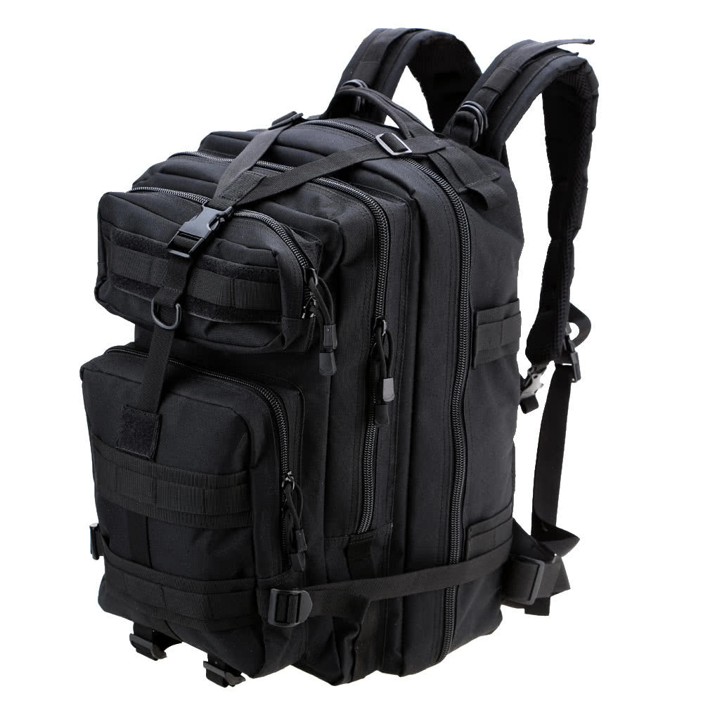 45L MOLLE Multifunction Military Rucksack Outdoor Tactical Backpack - Outdoor Panther