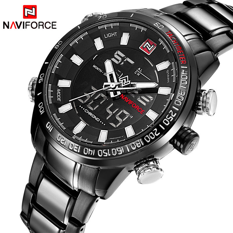 Men's Watch Waterproof Digital LED Male Sports Watch - Outdoor Panther