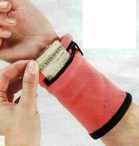 Zipper Sweatband Wristband Blake Athletic Wrist Ankle Wrap Sport Strap For Sports - Outdoor Panther
