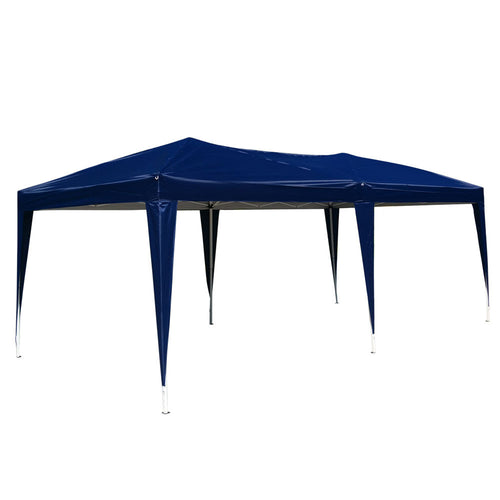 10'x 20' Easy Outdoor Pop Up Gazebo Canopy Cover Wedding Party Tent No Walls - Outdoor Panther