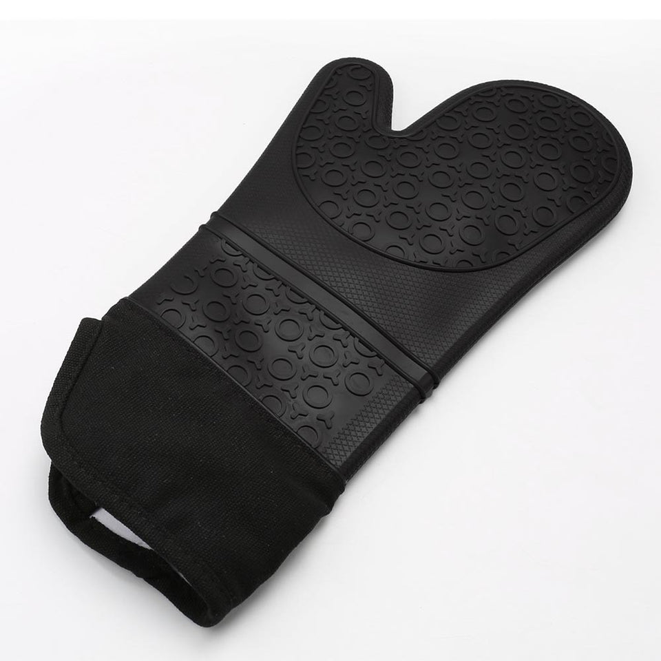 Extra Long Professional Silicone Oven Mitt, 1 PC - Outdoor Panther