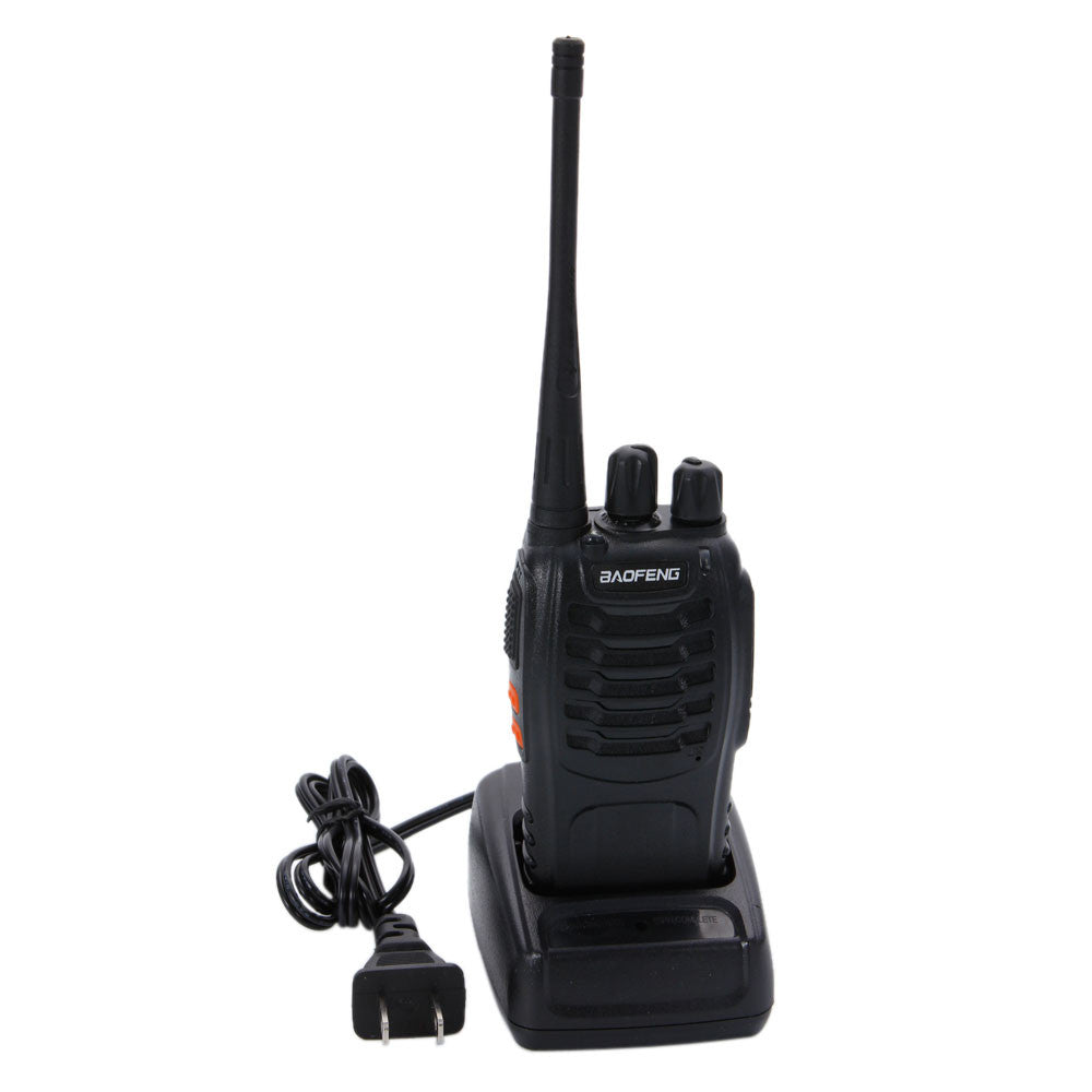 2 x Baofeng BF-888S UHF 400-470 MHz CTCSS Two-way Ham Radio 16CH Walkie Talkie - Outdoor Panther