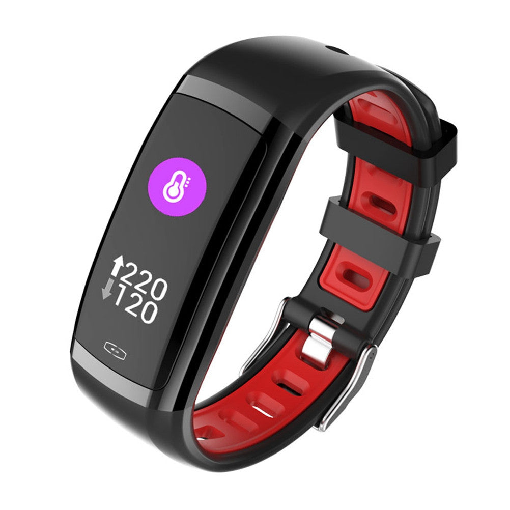 CD09 0.96 Inch TFT Wristband Fitness Tracker IP67 Waterproof for Android 4.4 iOS 8.2 - Outdoor Panther
