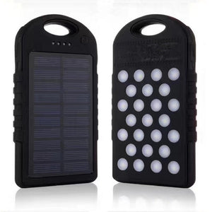 Solar Charger,10000mAh Portable Solar Power Bank - Outdoor Panther