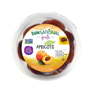 Sunsational Fruits Natural Apricots Rounds