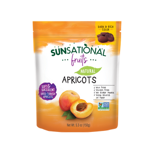 Sunsational Fruits Natural Apricots Pouches