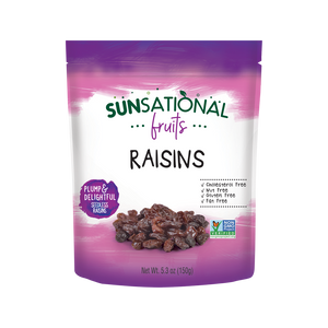 Sunsational Fruits Rasins Pouches