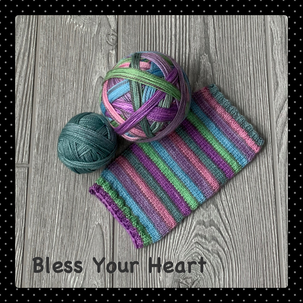 Bless Your Heart - self striping