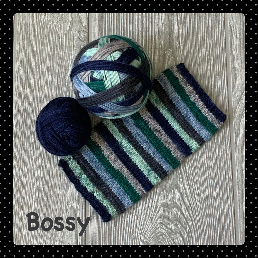 Bossy - self striping