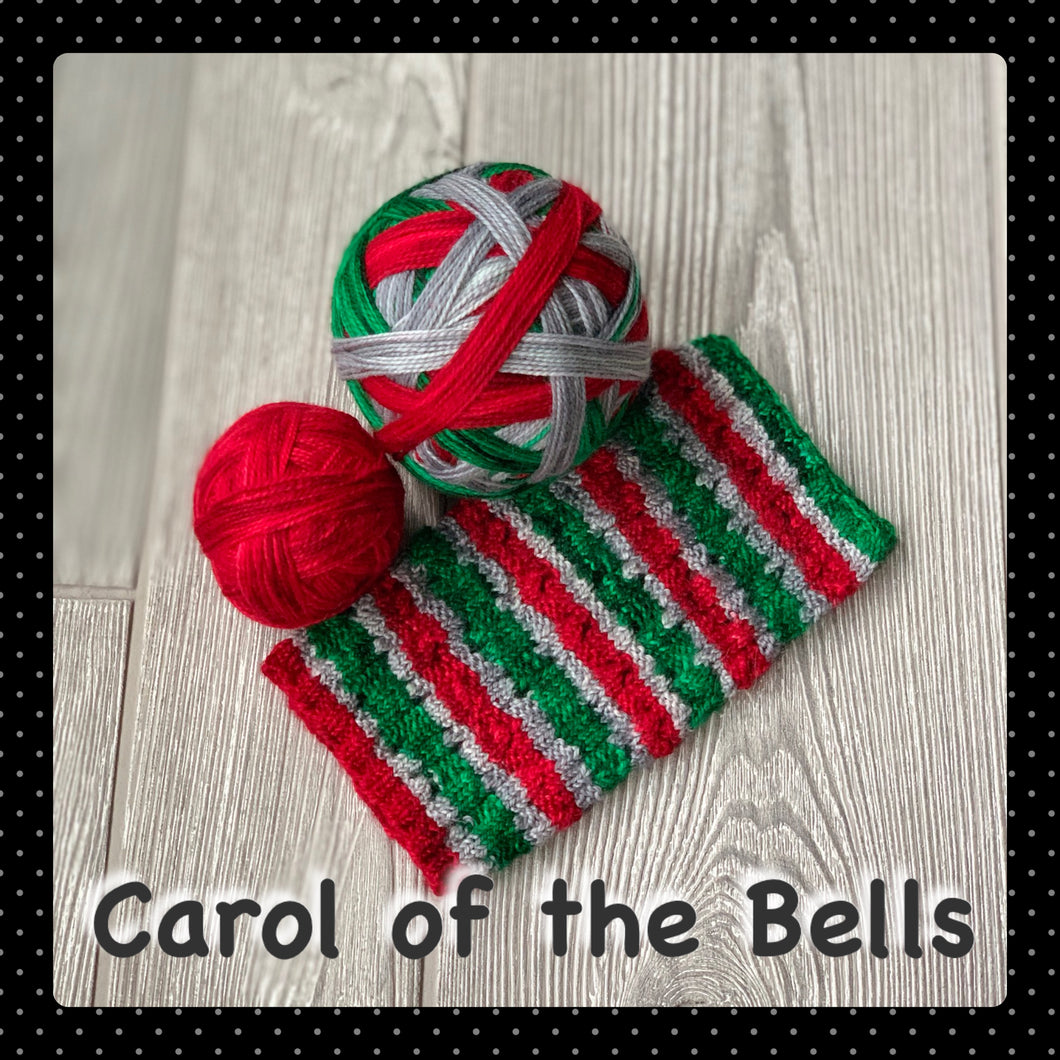 Carol of the Bells - self striping