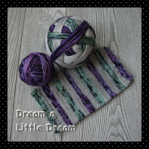 Dream a Little Dream - self striping