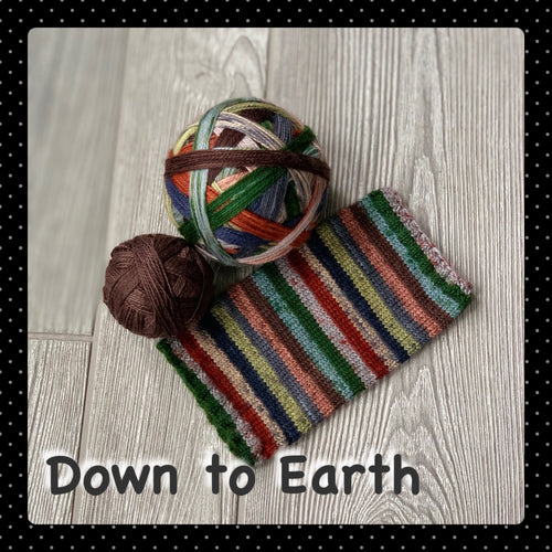 Down to Earth- self striping