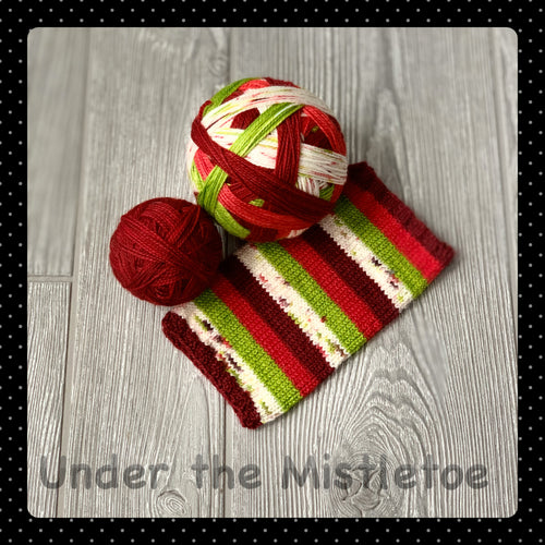 Under the Mistletoe - self striping