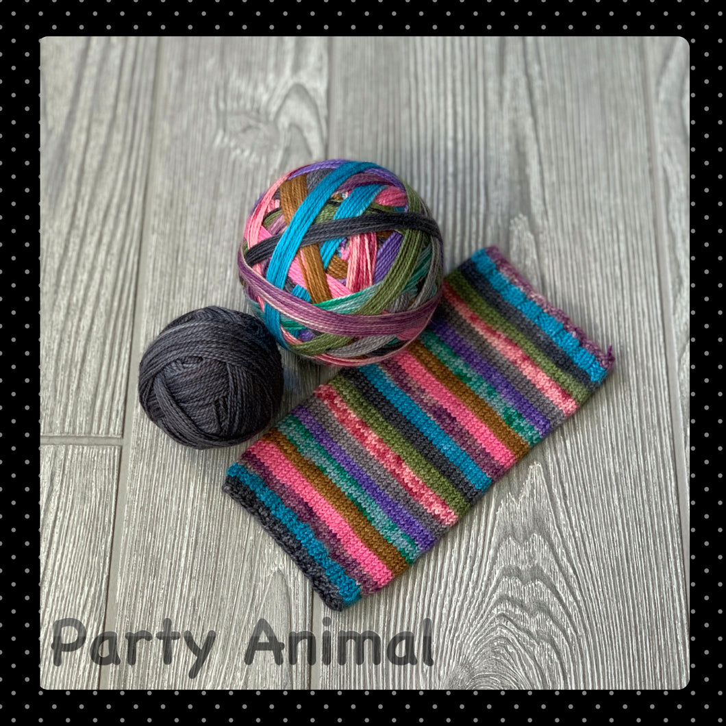 Party Animal- self striping