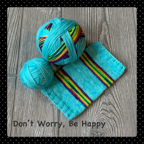 Don't Worry Be Happy - self striping