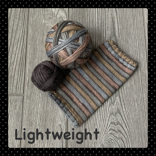 Lightweight- self striping