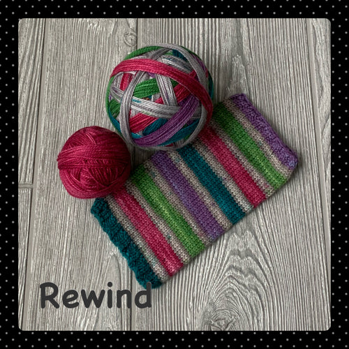 Rewind- self striping