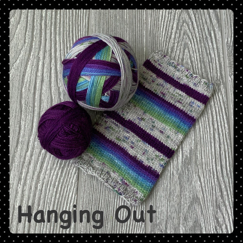 Hanging Out - self striping