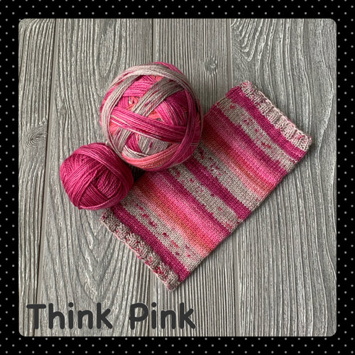 Think Pink - self striping
