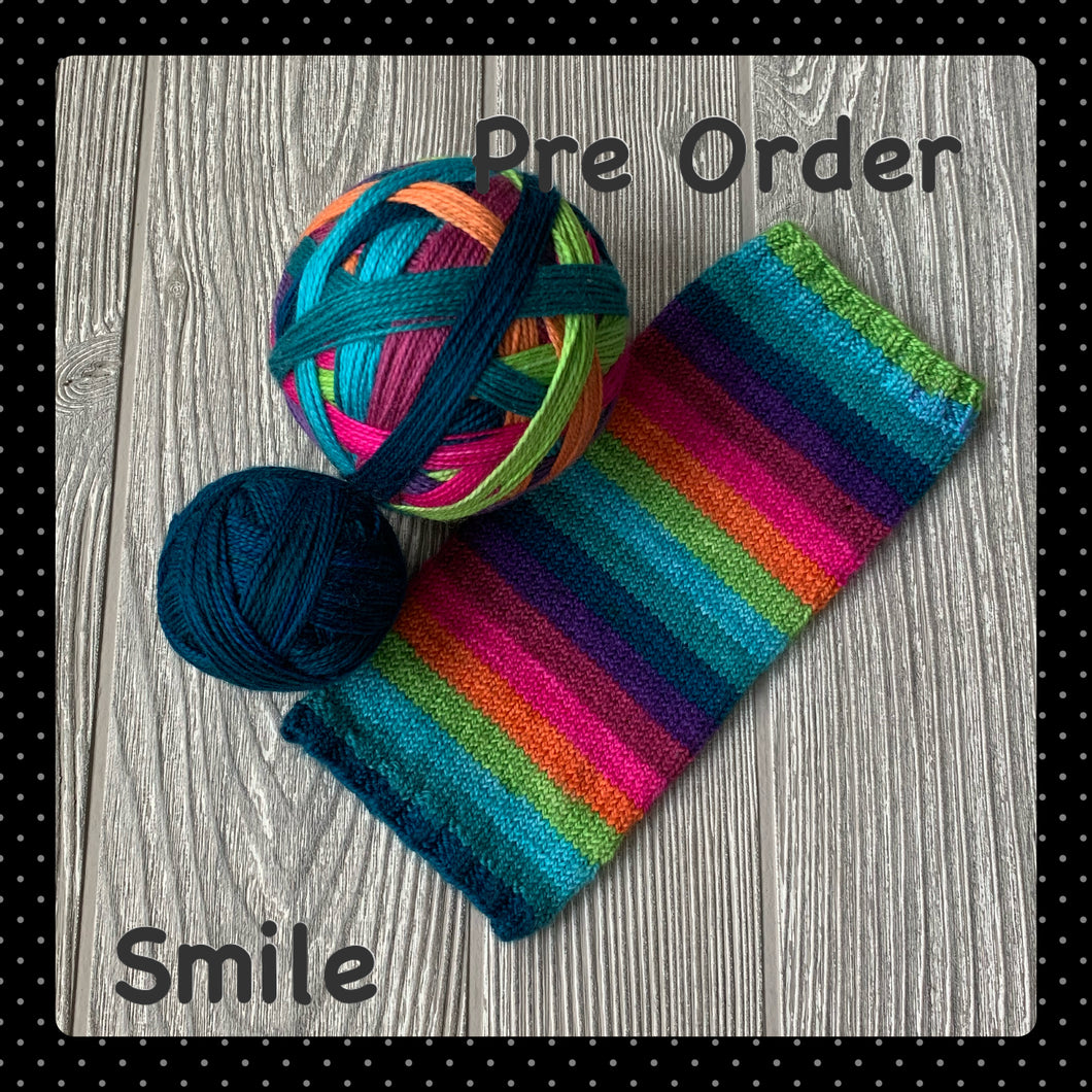 Smile - self striping